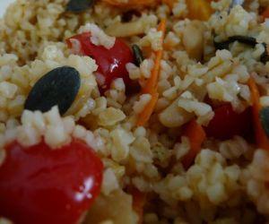 recettes salade marocaine boulgour
