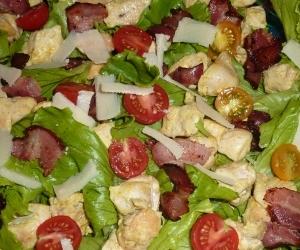 recettes salades au poulet cesar