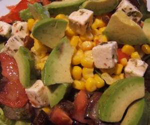 recettes salades feta
