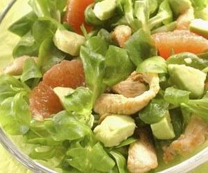 recettes salades poulet